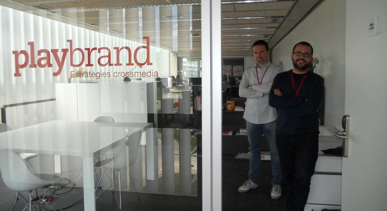 David Martí i Xevi Montoya, directors de Playbrand