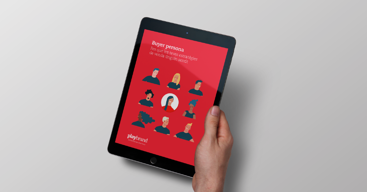 Playbrand treu nou ebook enfocat en els buyer persona.