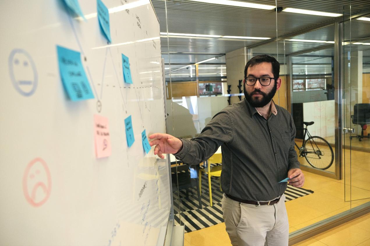 Marçal, especialista en mètriques (Google Analytics) i publicitat online de Playbrand