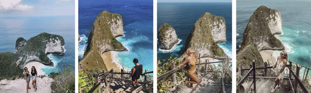 Diferents mostres d'un mateix destí de turisme experiencial d'Instagram