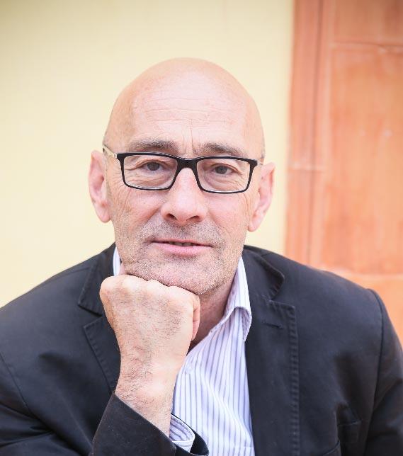 Salvador Sunyer al NITS de Playbrand parlant sobre les arts escèniques.