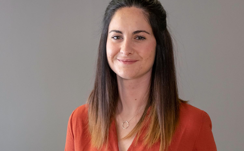 Sandra Borràs, especialista en dinamització de continguts